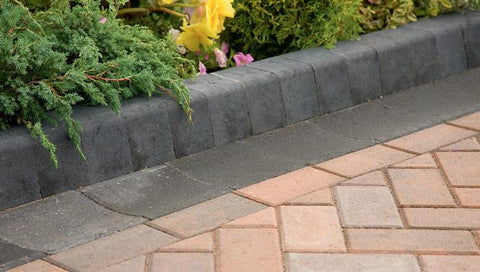 Keykerb Half Battered and Bullnosed Driveway Kerbs