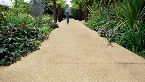 Saxon Textured Garden Paving