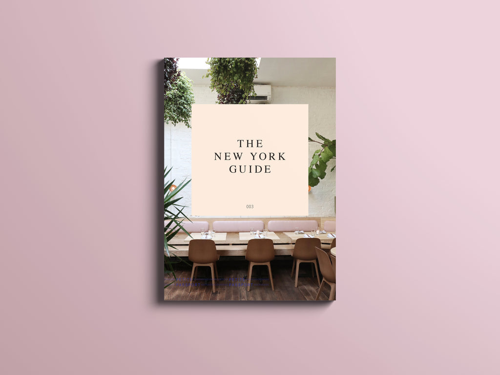 THE NEW YORK GUIDE (PRINTED)