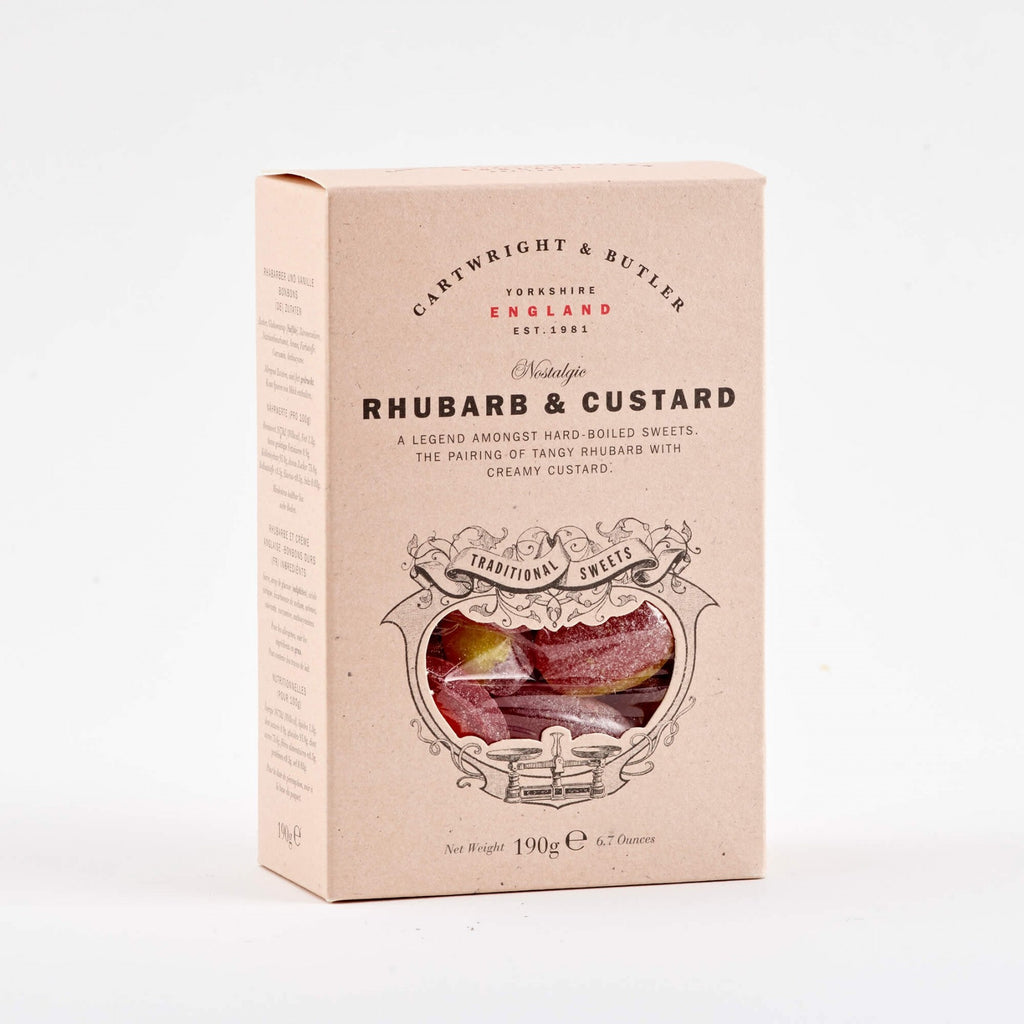 Cartwright & Butler // Rhubarb & Custard Sweets