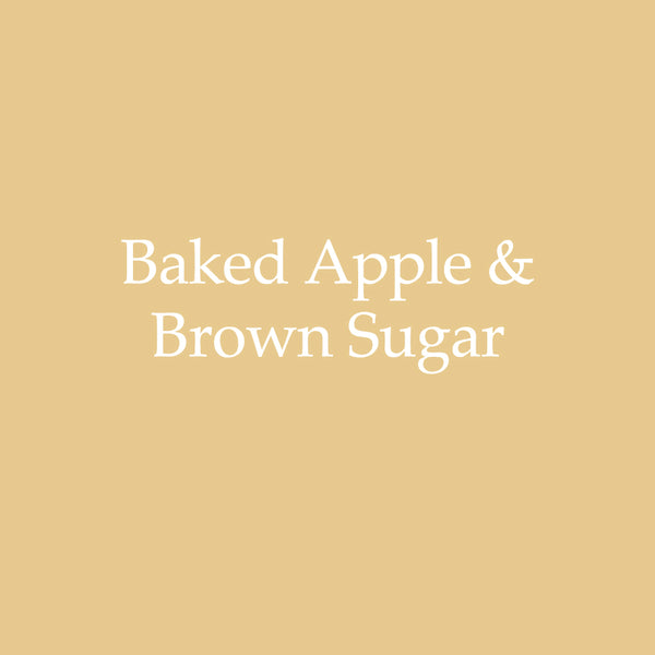 Baked Apple & Brown Sugar