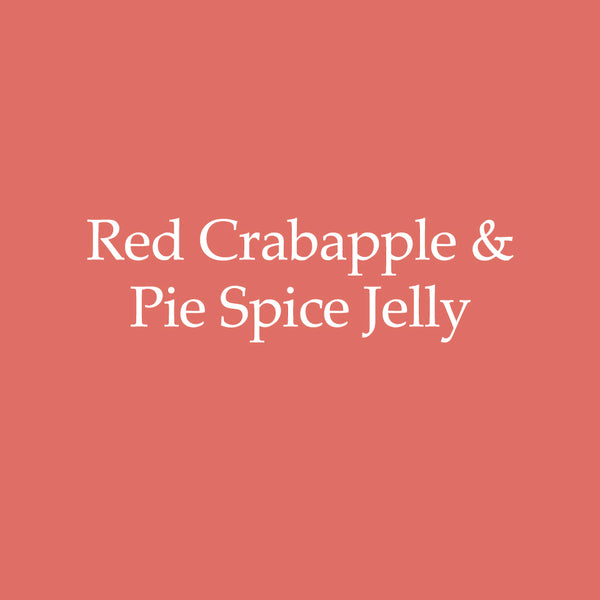 Red Crabapple & Pie Spices