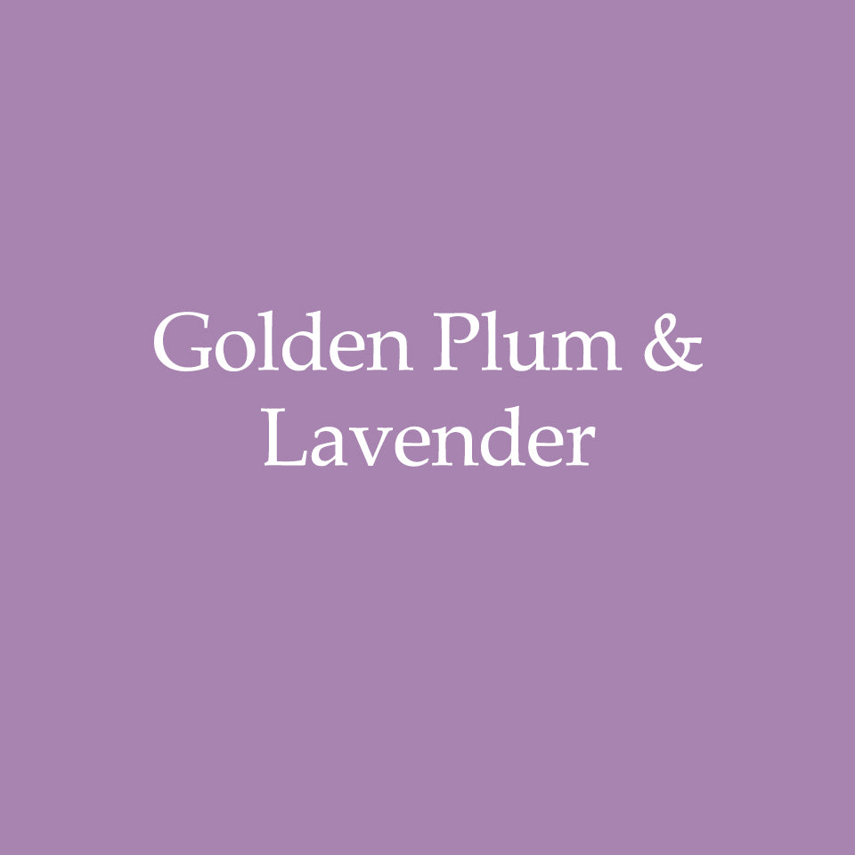 Golden Plum & Lavender