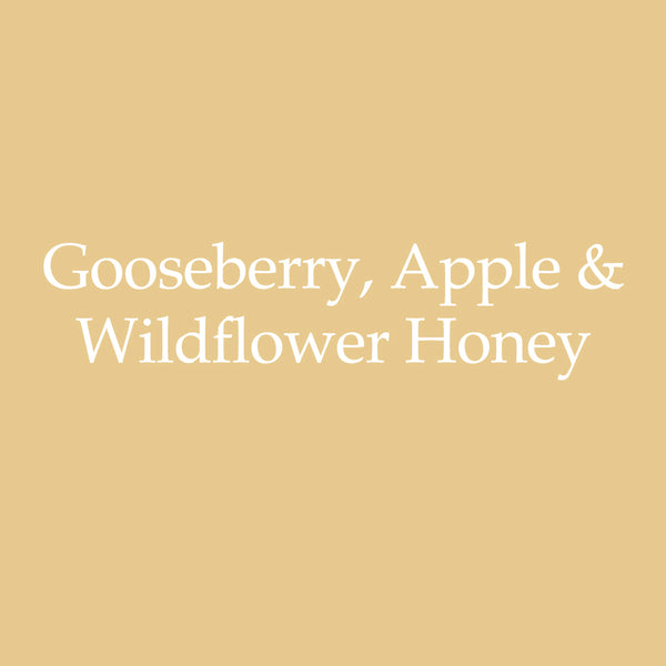 Gooseberry, Apple, & Wildflower Honey