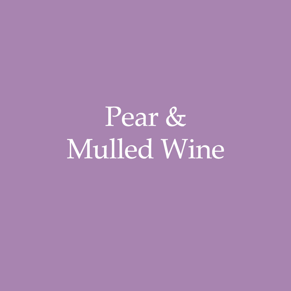 Pear & Mulled Wine