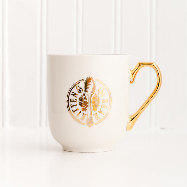 Gold KATB Strawberry Mug