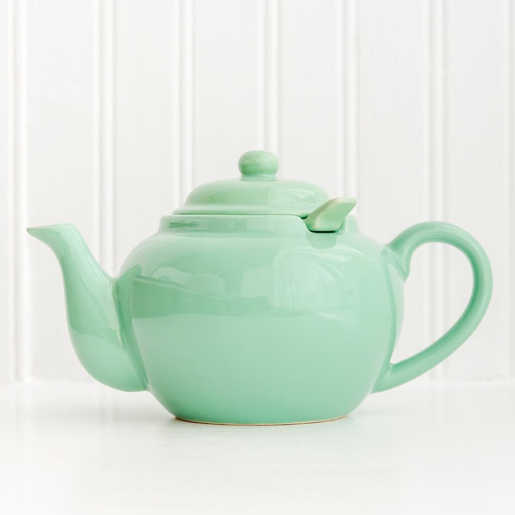 The Perfect Teapot // Sea Foam Green