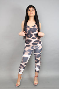 Cheetah Capri Leggings