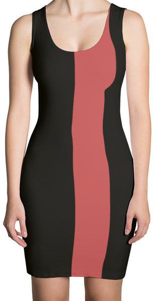 The Milan Stripe Fitted Dress
