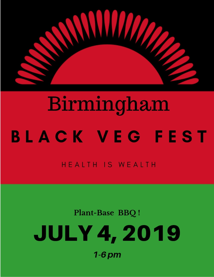 Birmingham Black Veg Fest Volunteers and Board Members