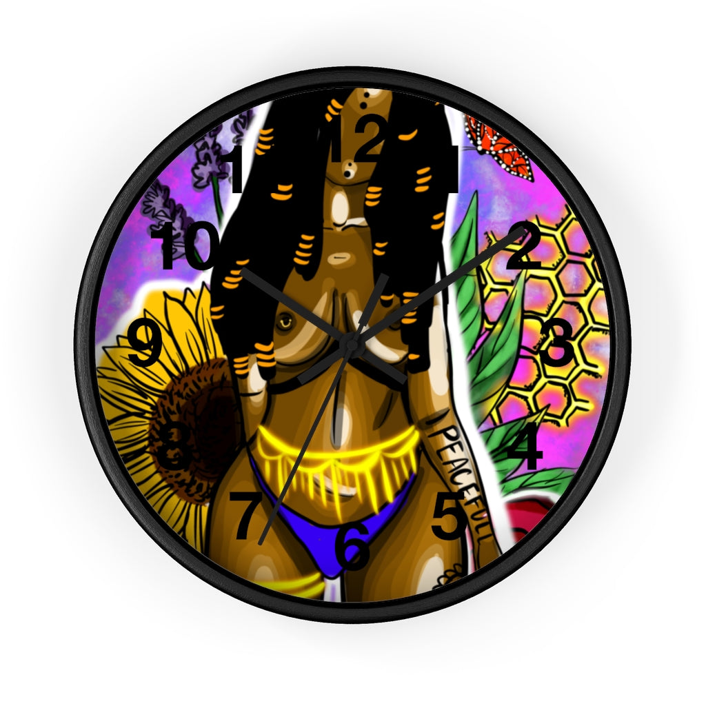 PeaceFULL Wall clock