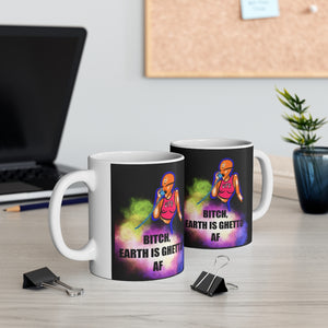 EARTH IS GHETTO Ceramic Mug 11oz