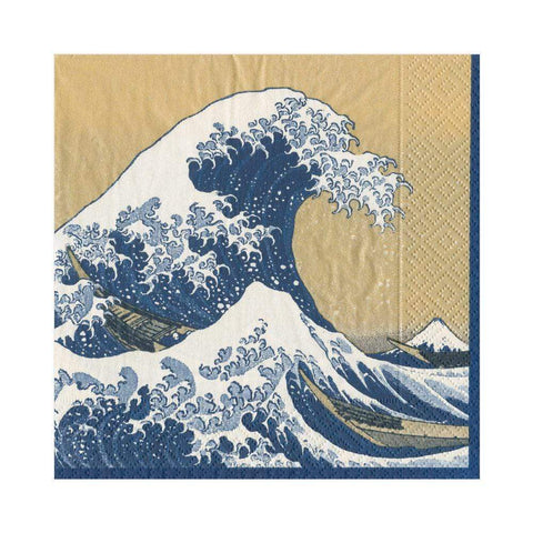 The Great Wave Paper Napkins