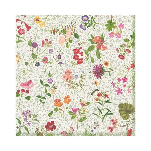 English Country Garden Paper Napkins - Luncheon