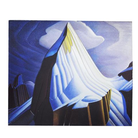 Lawren Harris Mount Lefroy Metallic Magnet