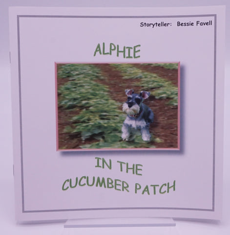 Alphie in the Cucumber Patch