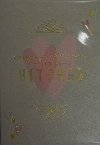 Congratulations You're Hitched Card