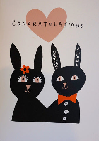 Card - Bunny Congratulations