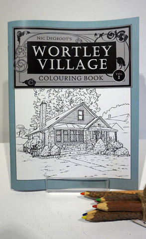 Wortley Village Colouring Book