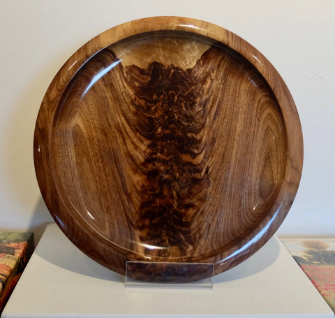 Black Walnut Serving Platter (20190502)