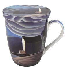 Harris Ice House Tea Mug with Lid