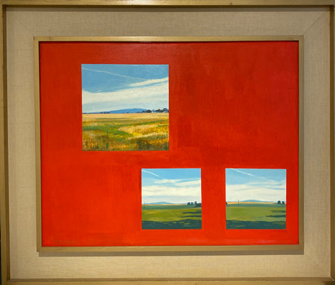Fragments of a Landscape, Cadmium Red, Astley Hill