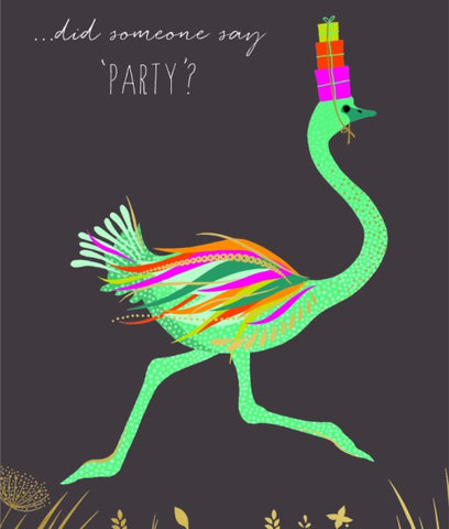 Card - Sara Miller - Did Someone Say Party?