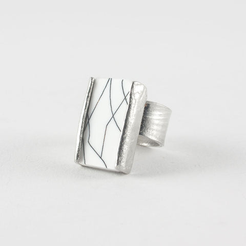 Prudence Ring - White