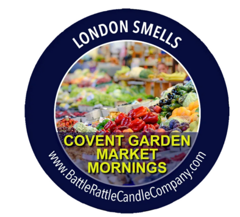 London Smells - Covent Garden Market Mornings