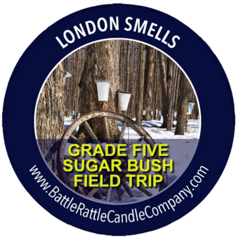 London Smells - Grade Five Sugar Bush Field Trip