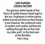 London Smells - East Dundas Cookie Factory