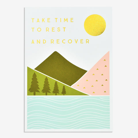 Card - Take Time To Rest