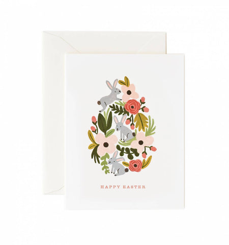 Card - Busy Bunnies Easter