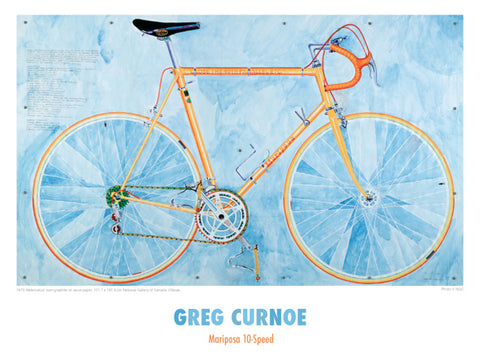 Mariposa 10 Speed Poster (Greg Curnoe)