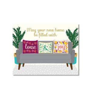 Card - Love and Joy Home