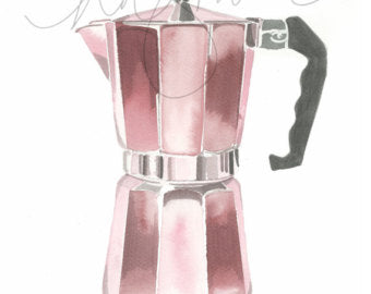 Card - Niki Kingsmill - Moka Pot