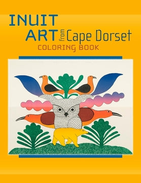 Inuit Art Coloring Book