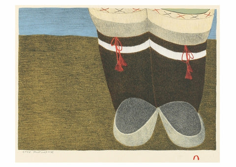 Card - Itee Pootoogook: Looking South