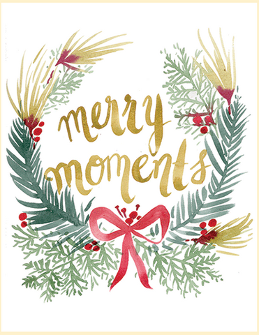 Card - Merry Moments