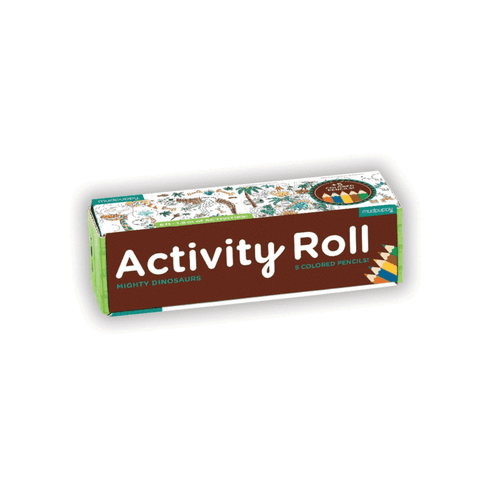 Mighty Dinosaurs Activity Roll