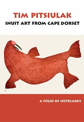 Folio of Notecards - Tim Pitsiulak: Inuit Art from Cape Dorset