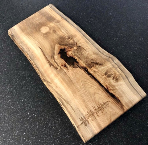 Serving Board - Tree and Seagull