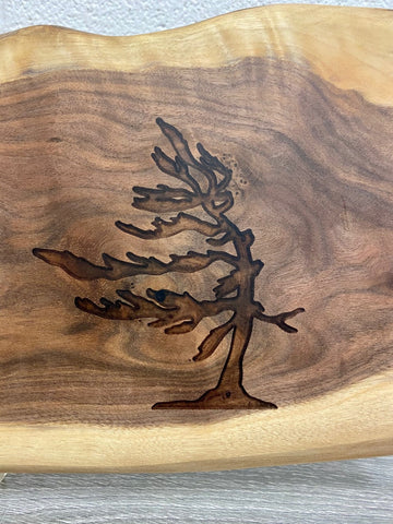 Serving Board - Tree