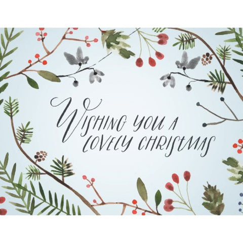 Card - Wishing You A Lovely
