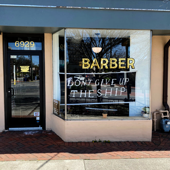 Getting to Know: Georgies Barber