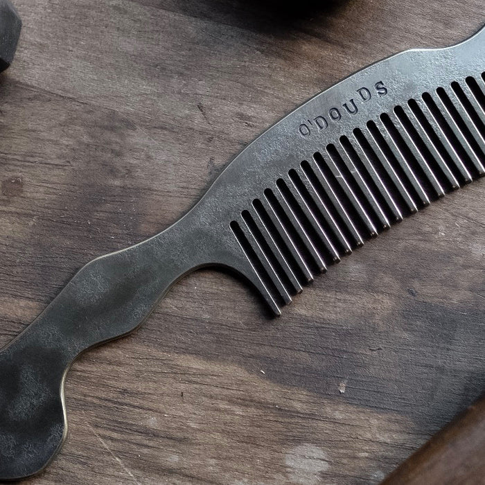 "The O'Douds 6"" Brass Comb"
