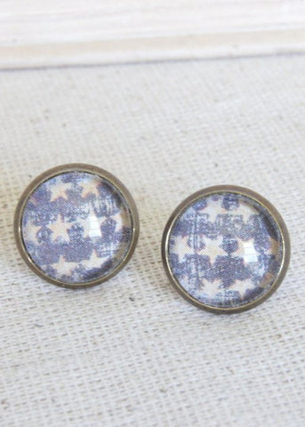 Big Stars Stud Earrings