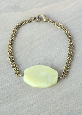 New Jade Bronze Bracelet