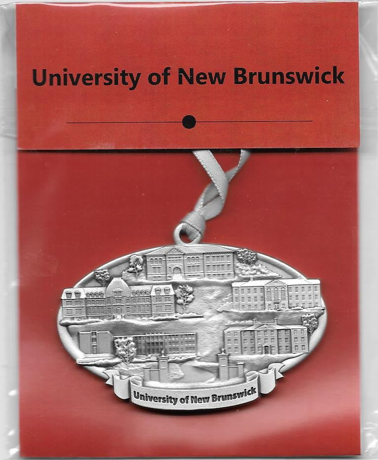 New UNB Collage Ornament