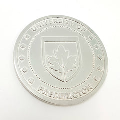 silver polish medal custom medallion pewter